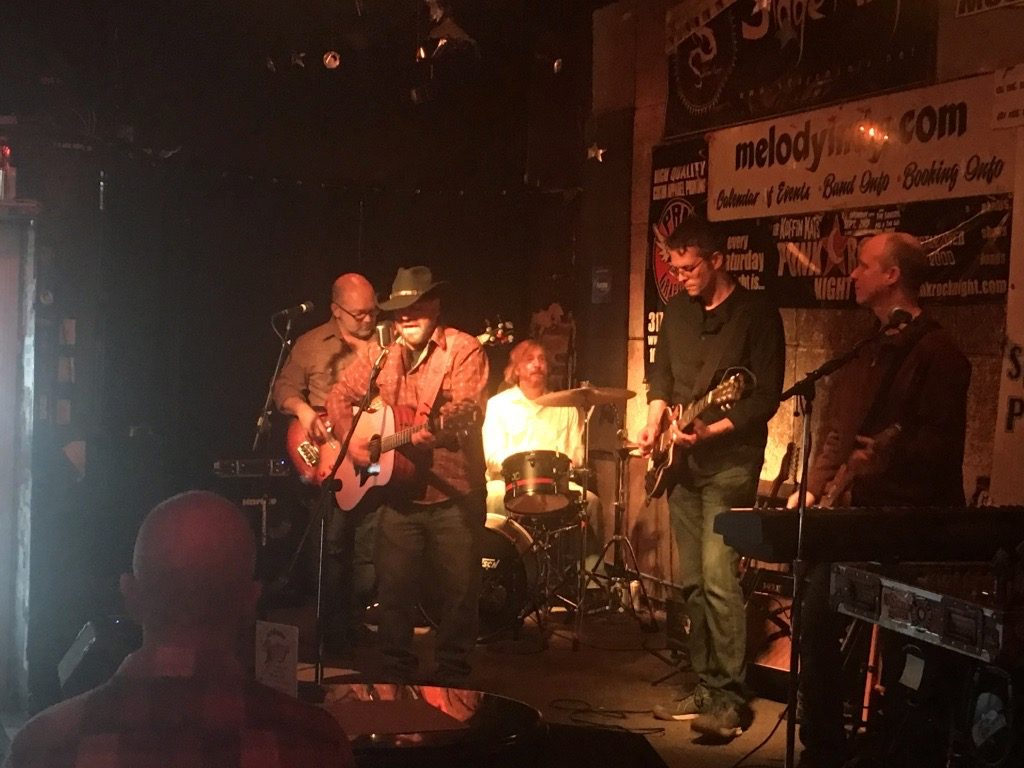 Rick Dodd and the Dickrods performing at the Melody Inn