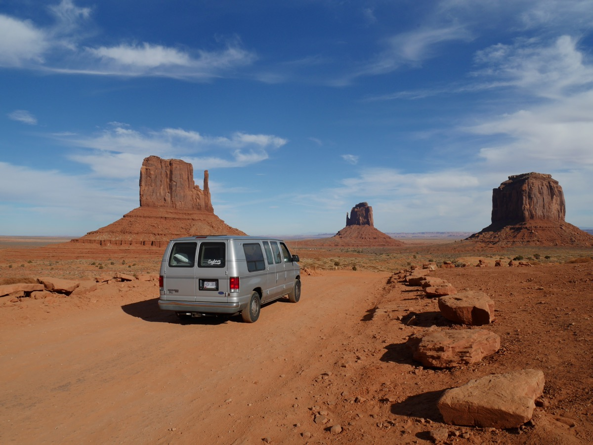 The Roo in Monument Valley