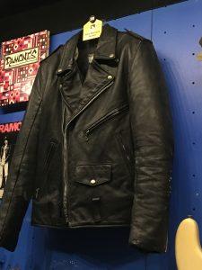 Joey Ramone's Leather Jacket