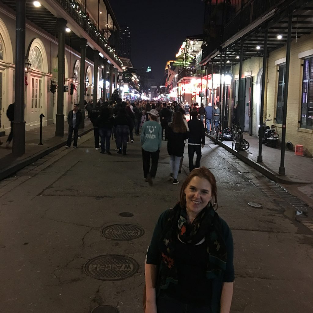 Back in the French Quarter